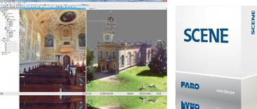 FARO SCENE 屏幕和方框